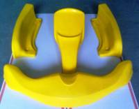 SET CARENATURE XTR11 COMPLETTI GIALLO