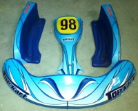 SET CARENATURE  TOP KART SEMI NUOVE